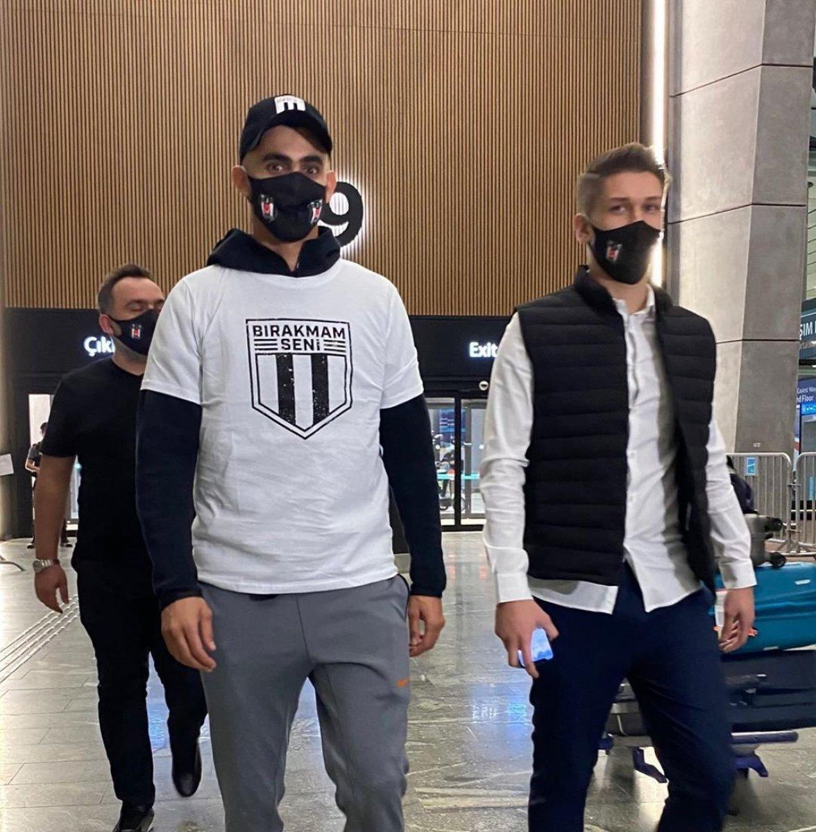 Beşiktaş, Rachid Ghezzal ı motosikletle yetiştirdi  #2