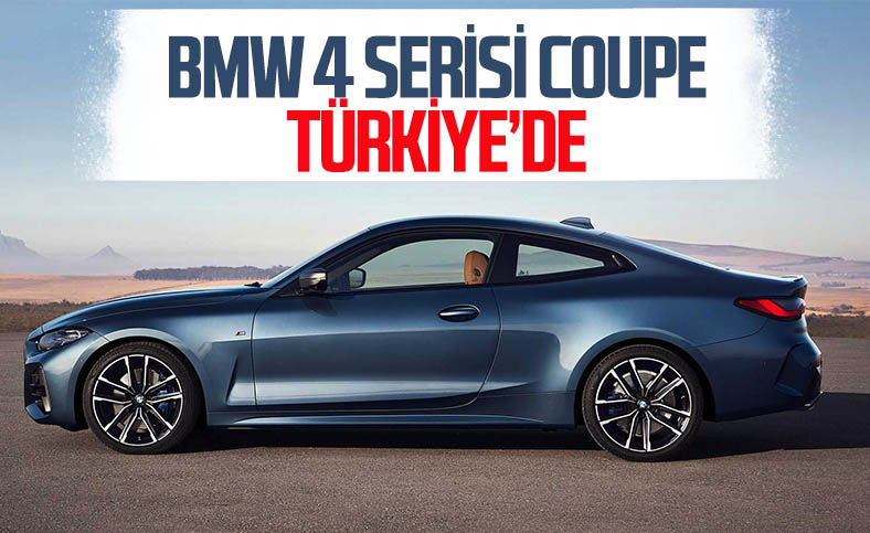BMW 4 Serisi Coupe, 3 farklı motor seçeneğiyle ülkemize geldi