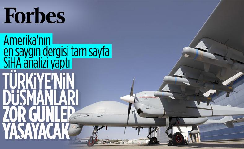 Türk drone'larının başarısı Forbes'un gündeminde