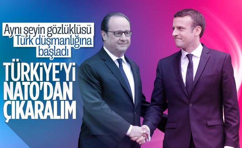 François Hollande: Türkiye'nin NATO'daki varlığını sorgulayın