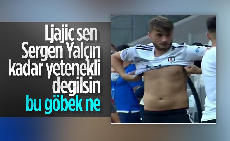 Adem Ljajic'in fazla kiloları dikkat çekti