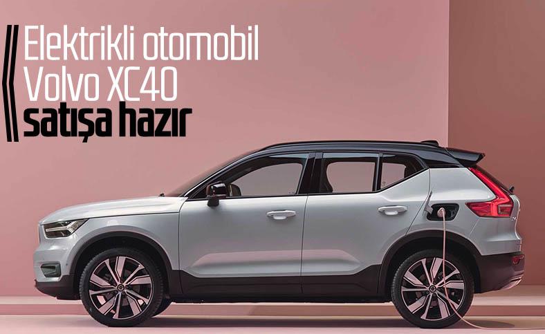 Volvo'nun elektrikli otomobili XC40, bu ay içinde banttan inecek