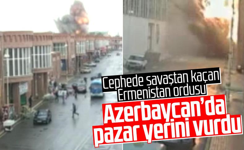 Ermenistan, Gence şehrinde sivilleri hedef aldı