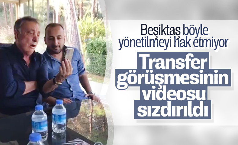 Ahmet Nur Çebi'den online transfer görüşmesi