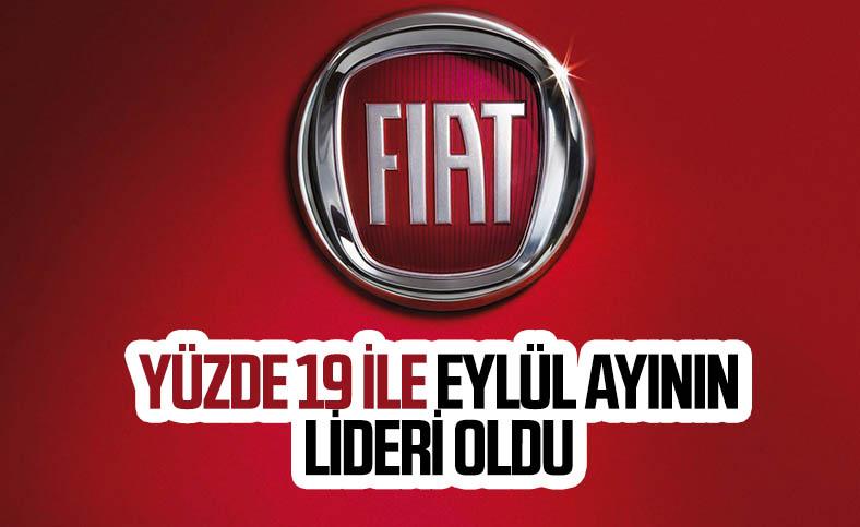 Fiat, eylül ayında pazardaki liderliğini sürdürdü