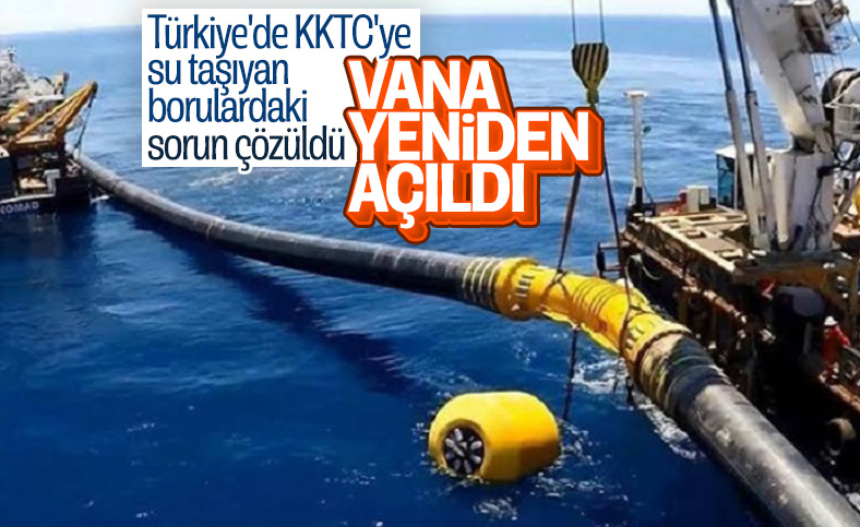 Cumhurbaşkanı Erdoğan KKTC'ye verilecek suyla ilgili: Biz bu işi yaparız dedik ve yaptık