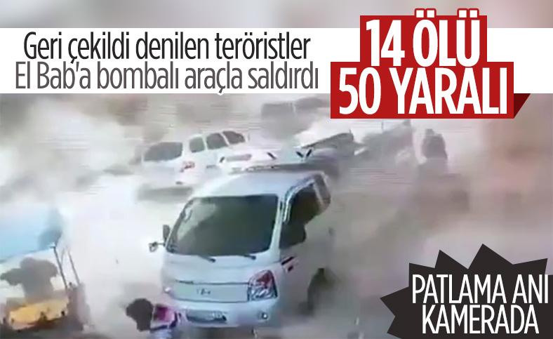 Suriye'de bomba yüklü kamyonla saldırı