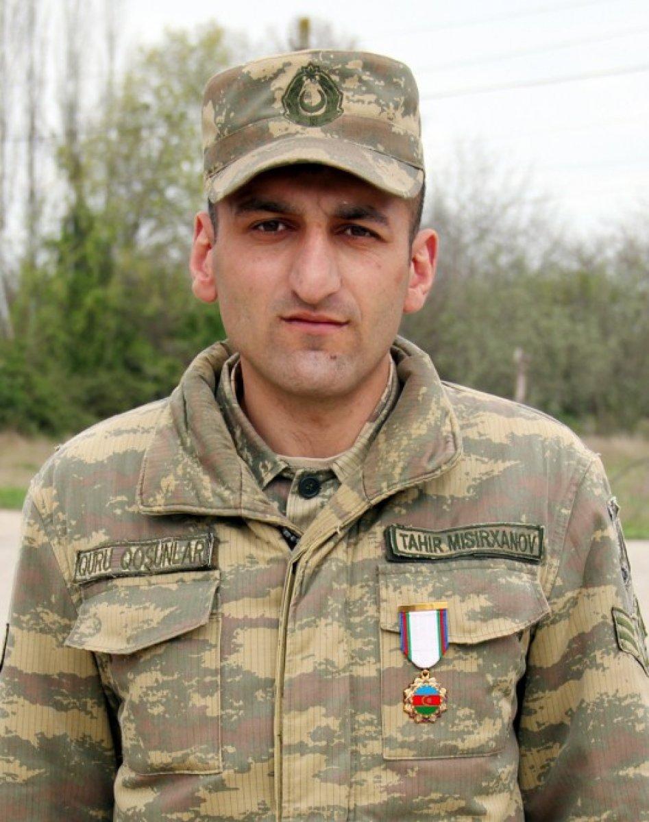 11 Ermeni zırhlısını imha eden Azerbaycan askeri: Tahir Misirkhanov #1