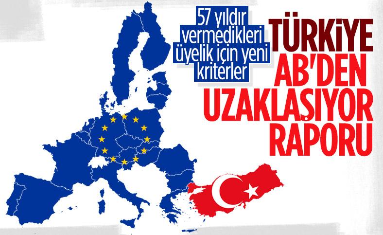 AB: Türkiye üyelik kriterlerinden uzaklaşıyor