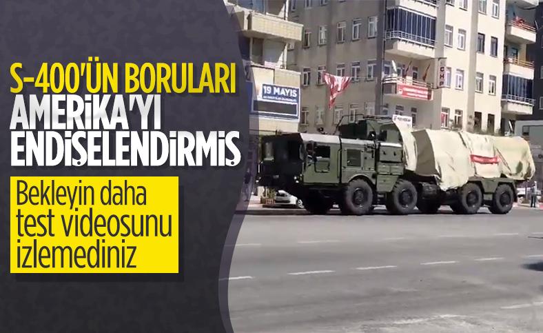 ABD: Türkiye'nin S-400'ü test edebileceği iddiasından dolayı endişeliyiz