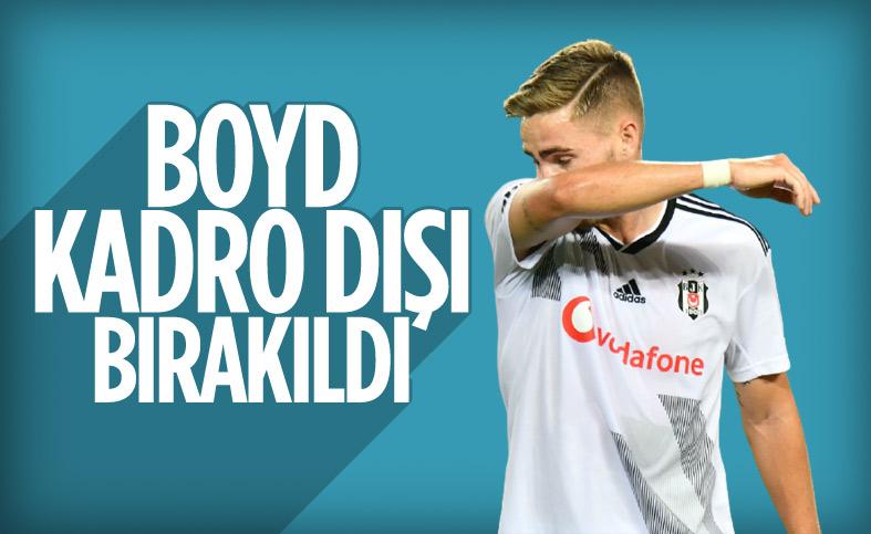 Beşiktaş'ta Tyler Boyd kadro dışı bırakıldı