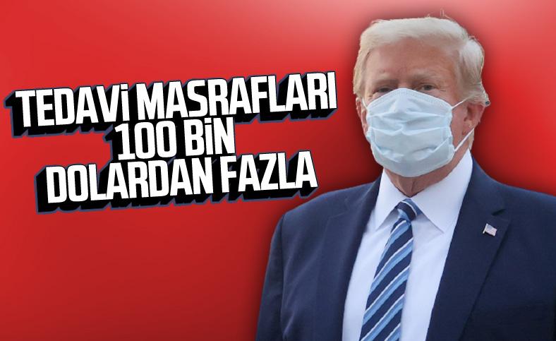 Trump'ın tedavi masrafları 100 bin doların üzerinde