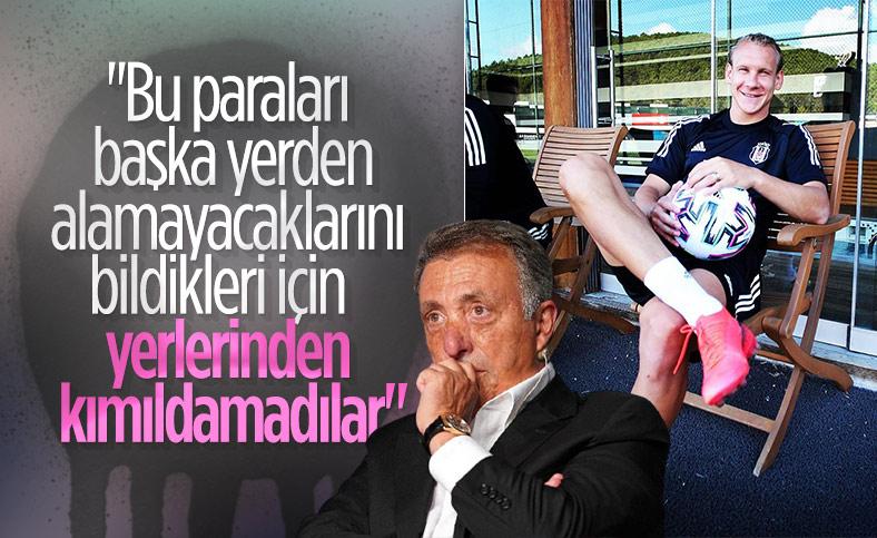 Ahmet Nur Çebi'den gitmek istemeyen futbolculara tepki