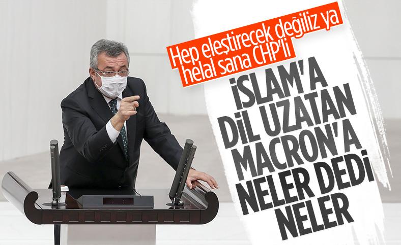 CHP'den Macron'a İslam tepkisi
