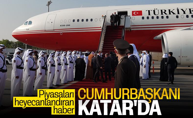 Cumhurbaşkanı Erdoğan Kuveyt ve Katar'a gitti