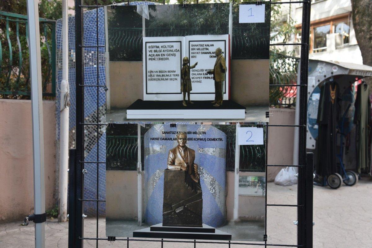 CHP li İzmit Belediyesi dikeceği heykeli halk oylamasına sundu #1