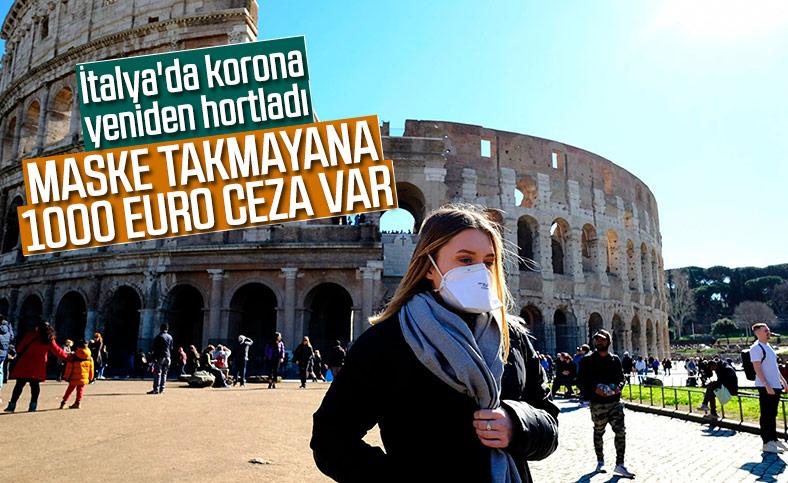 İtalya'da son 5 ayın en yüksek günlük korona vakası tespit edildi