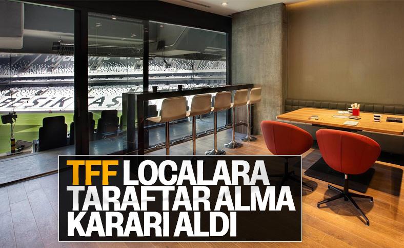 Süper Lig takımları localara taraftar alabilecek