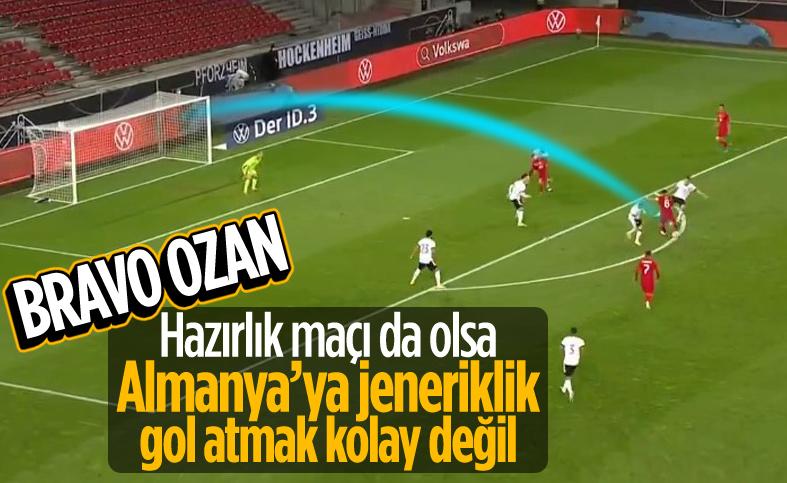 Ozan Tufan'dan Almanya'ya jeneriklik gol