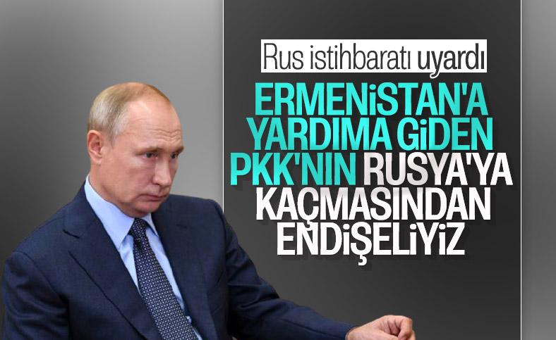 Rus istihbarat başkanından PKK uyarısı
