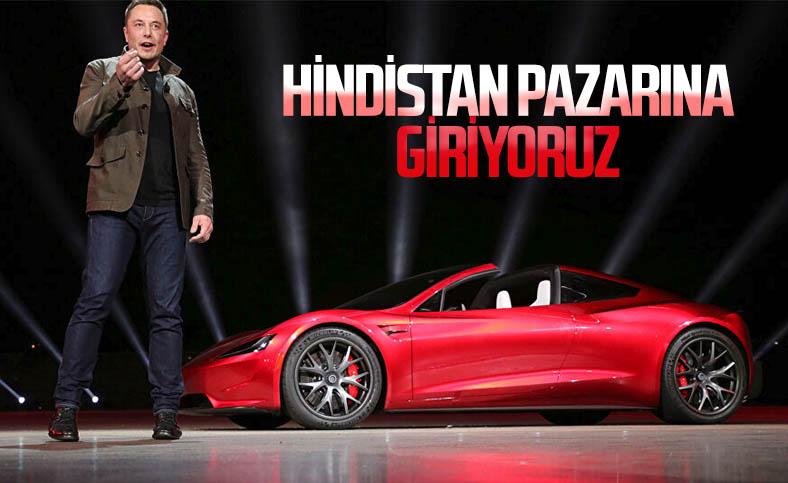 Tesla, gelecek yıl Hindistan pazarına girmeye hazırlanıyor