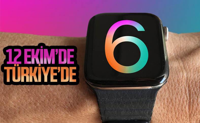 Apple Watch Series 6 ve Apple Watch SE 12 Ekim'de Türkiye'de satışa çıkacak