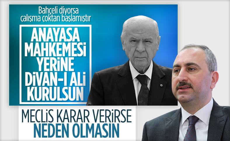 Adalet Bakanı Abdulhamit Gül'den 'AYM düzenlemesi' açıklaması