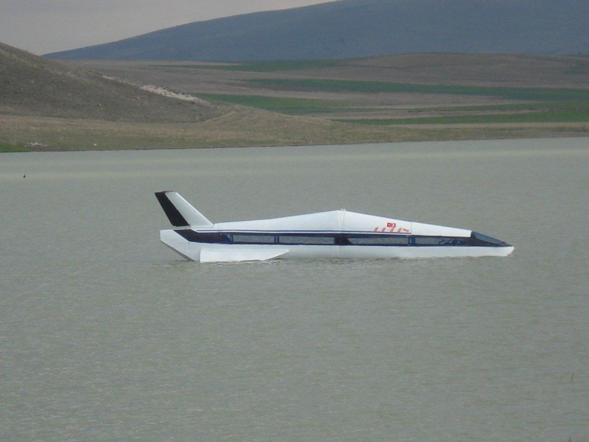 Kayseri de suda gidebilen yüksek hızlı araç yaptı, Kanada talip oldu  #1