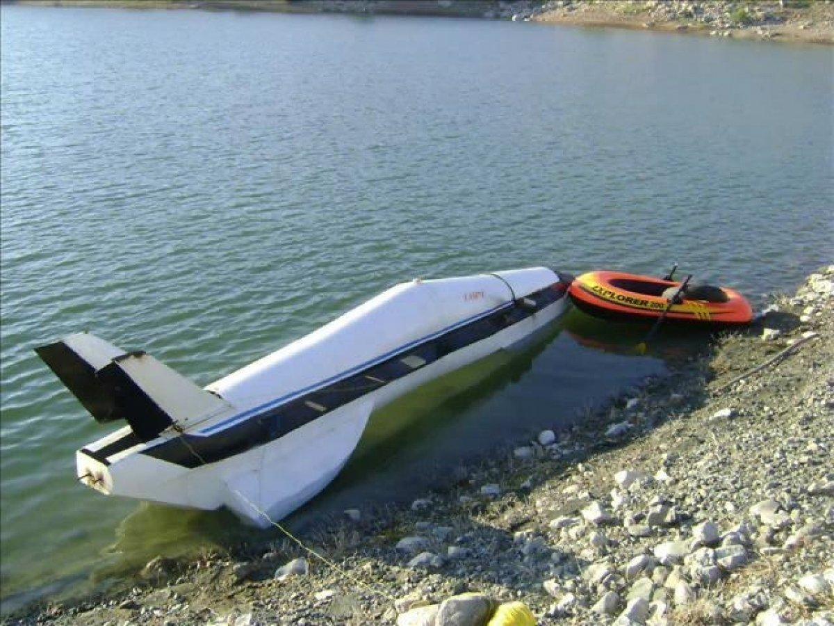 Kayseri de suda gidebilen yüksek hızlı araç yaptı, Kanada talip oldu  #2