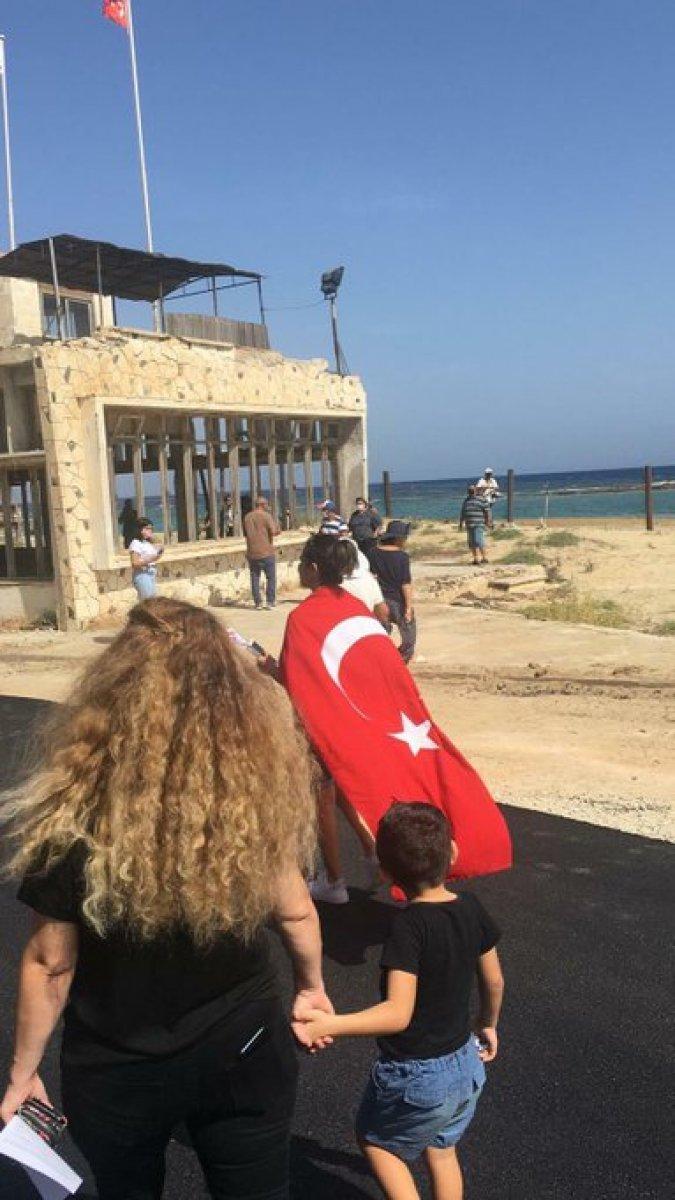 46 yıldır kapalı olan Maraş sahili açıldı #2
