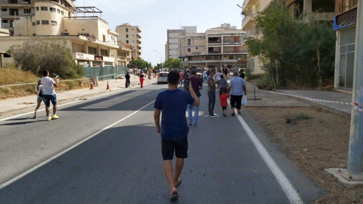46 yıldır kapalı olan Maraş sahili açıldı #4