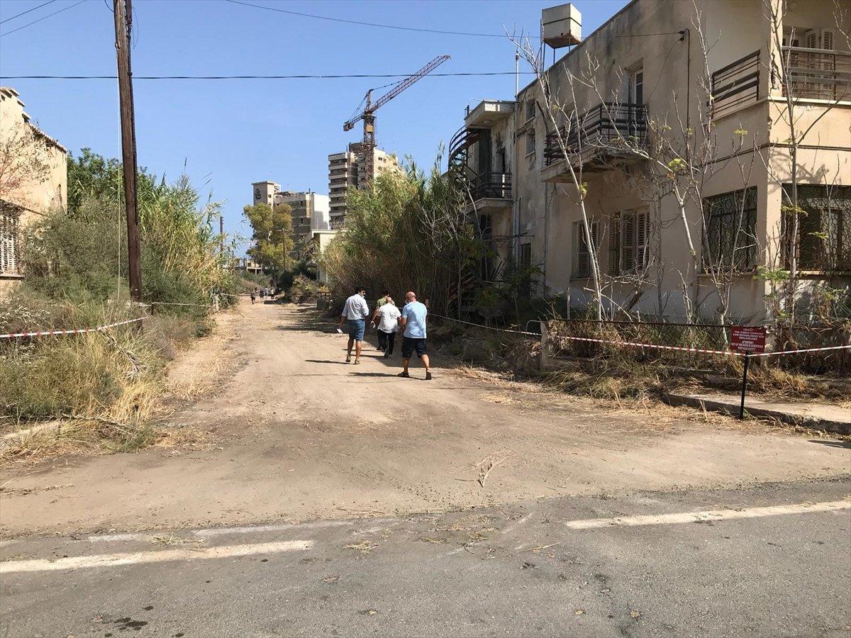 46 yıldır kapalı olan Maraş sahili açıldı #8