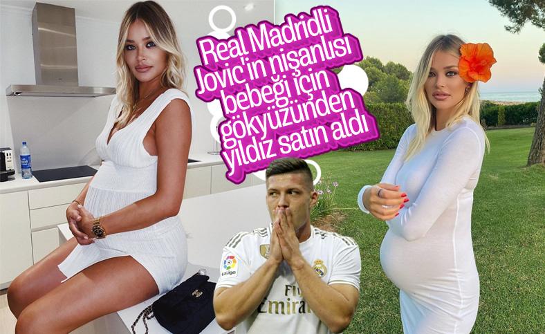 Luka Jovic'in nişanlısı Sofija Milosevic yıldız satın aldı