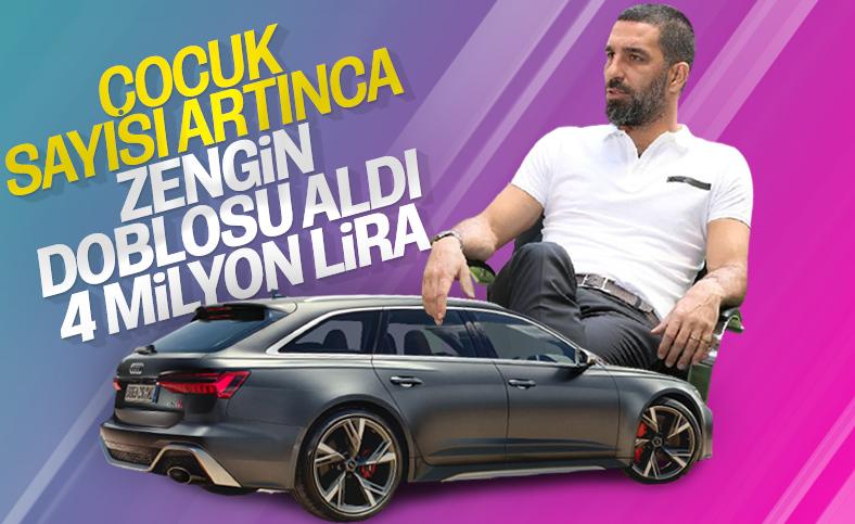 Arda Turan'ın yeni arabası