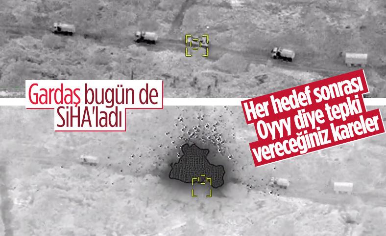 Azerbaycan birlikleri, Ermeni zırhlılarını vurdu