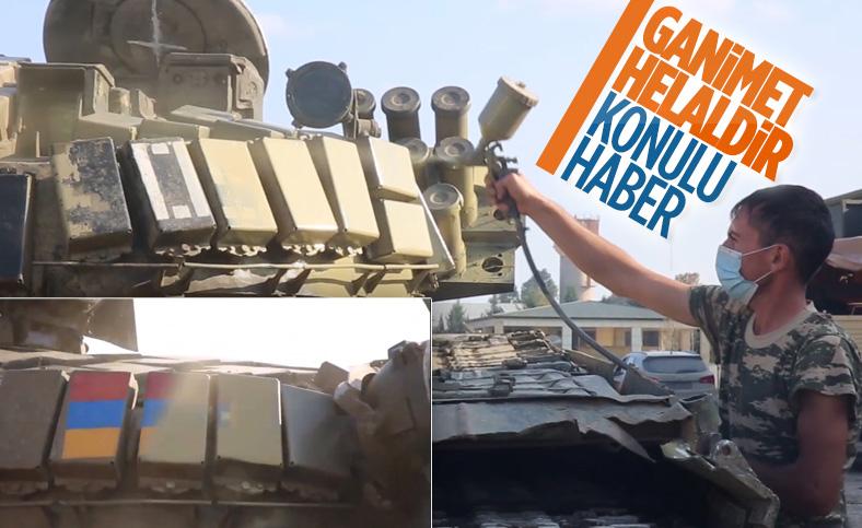 Azerbaycan ordusu, Ermenilerin terk edip kaçtığı ganimete el koydu