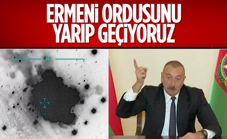Azerbaycan Cumhurbaşkanı İlham Aliyev: Yarıp geçtik