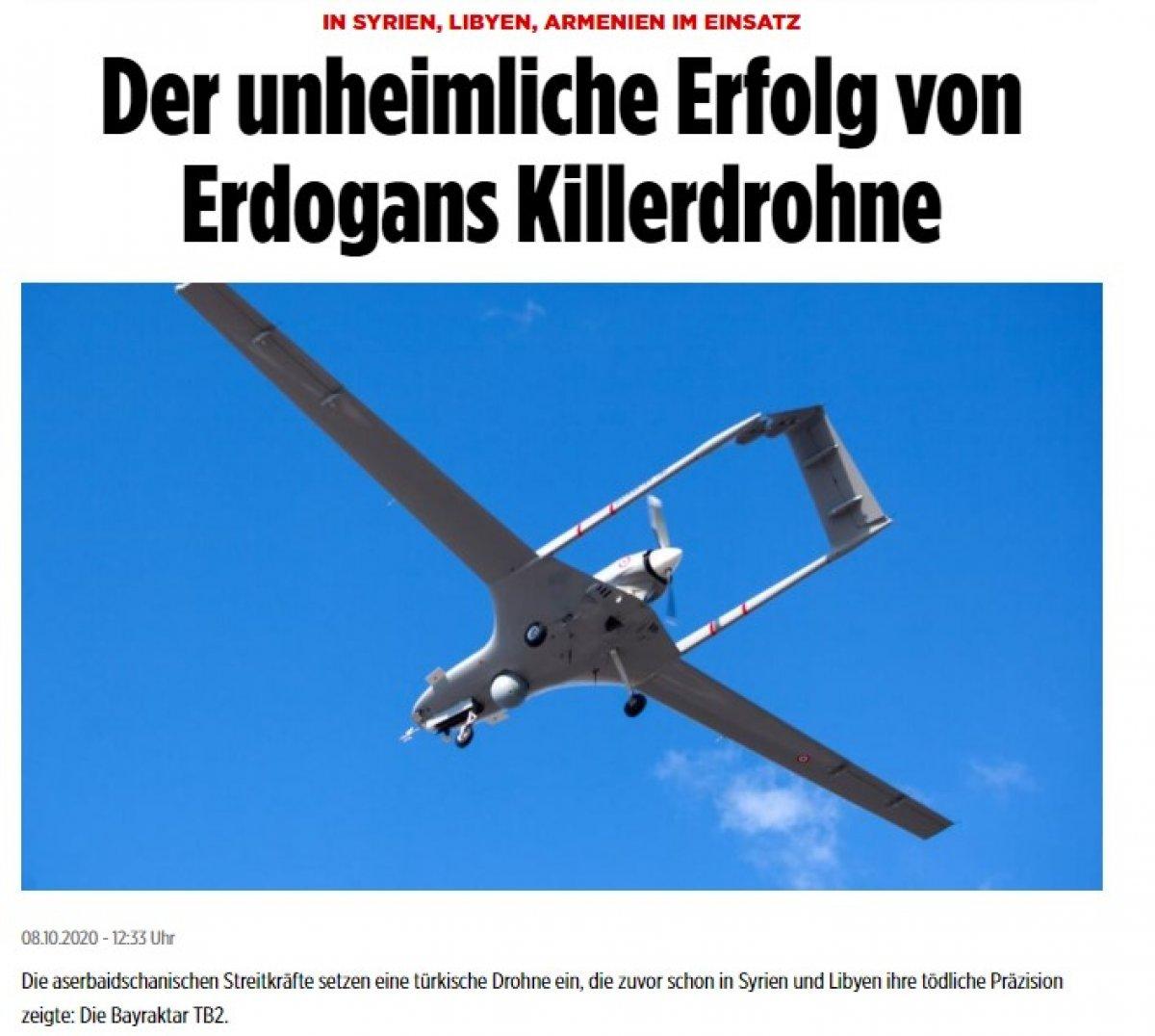 Türk drone'larının başarısı, Alman Bild'in gözünü korkuttu #2