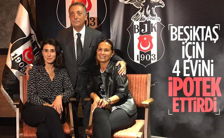 Ahmet Nur Çebi, Beşiktaş için kredi çekti