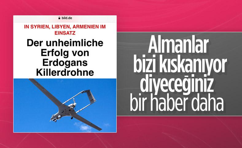 Türk drone'larının başarısı, Alman Bild'in gözünü korkuttu