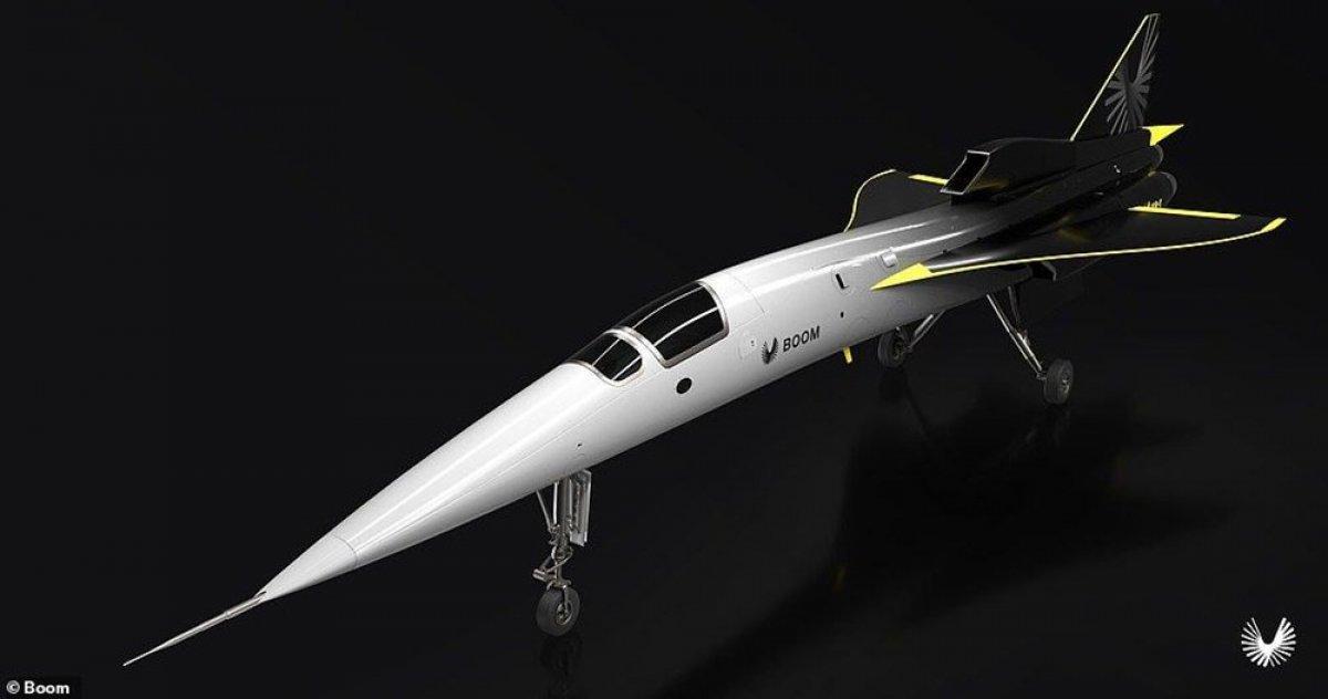 Boom yeni uçağını tanıttı #1