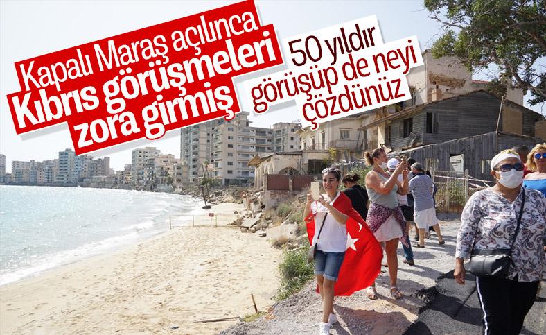 Kıbrıs görüşmerindeki yeni bahane: Kapalı Maraş