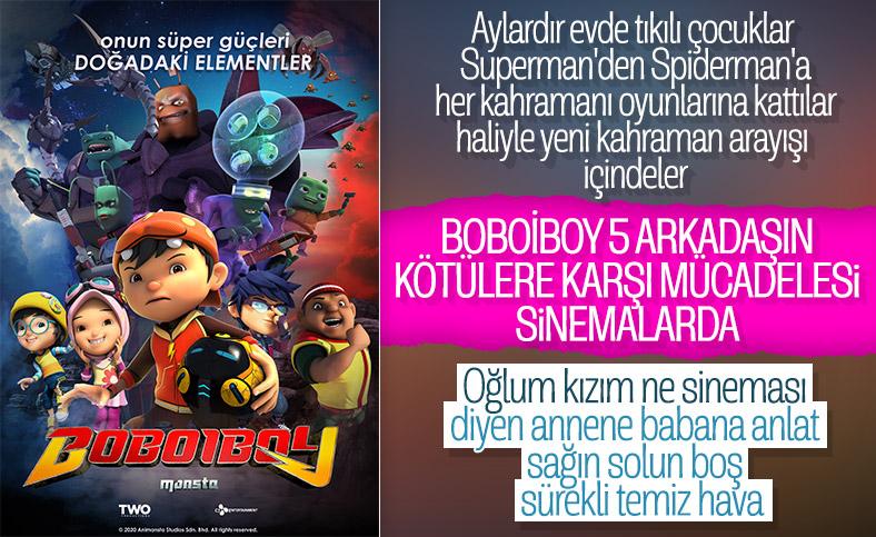 Süper kahraman BoBoiBoy sinemalarda