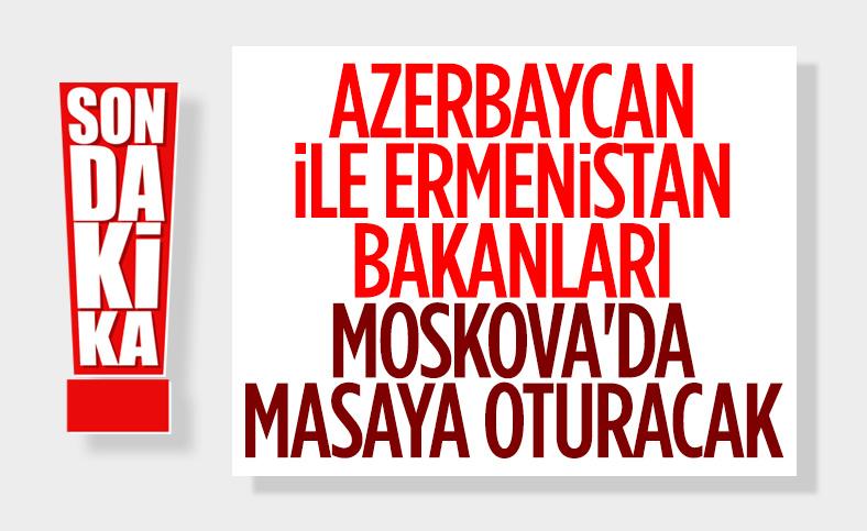 Azerbaycan ve Ermenistan Dışişleri Bakanları bir araya geliyor