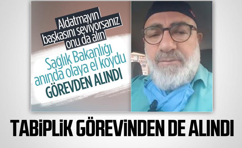 Ali Edizer, tabiplik görevinden de alındı
