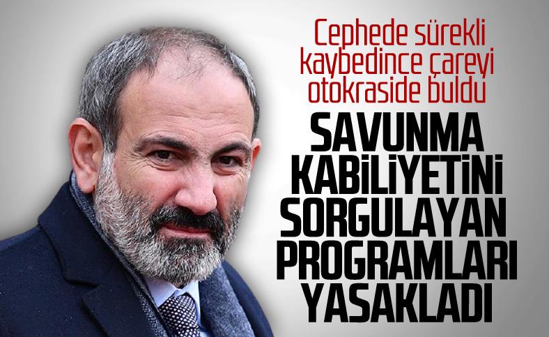 Ermenistan sıkıyönetime ek kısıtlamalar getirdi