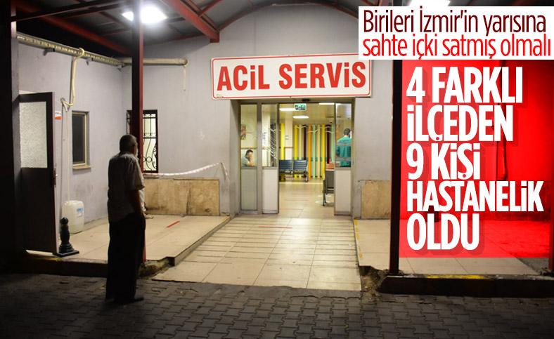 İzmir'de 9 kişi sahte içkiden zehirlendi