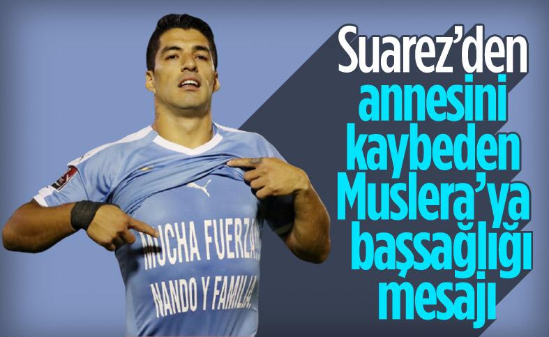 Luis Suarez'den annesini kaybeden Muslera'ya destek