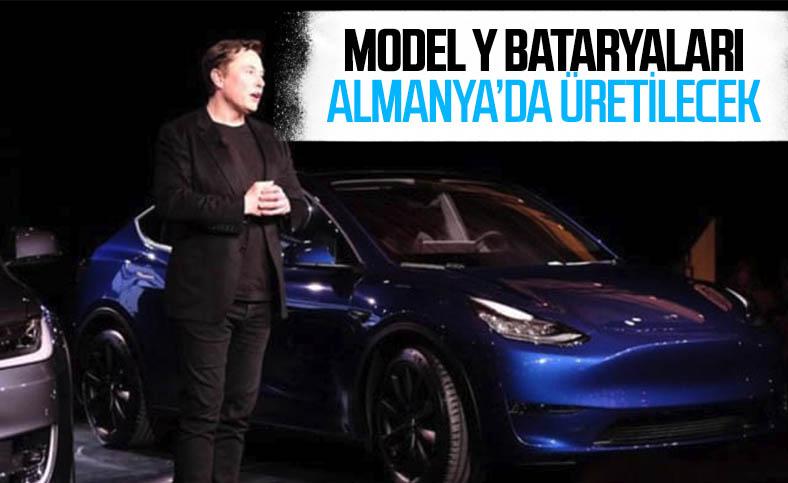 Tesla Model Y'nin bataryaları Almanya'daki Tesla fabrikasında üretilecek