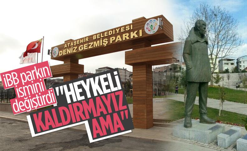 Ataşehir'de Deniz Gezmiş Parkı'nın adı değişti